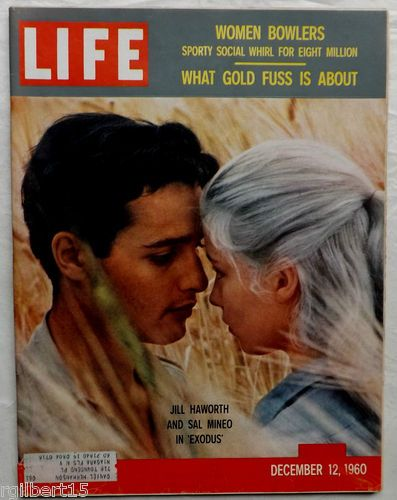 sal mineo and jill haworth in exodus my life magazines