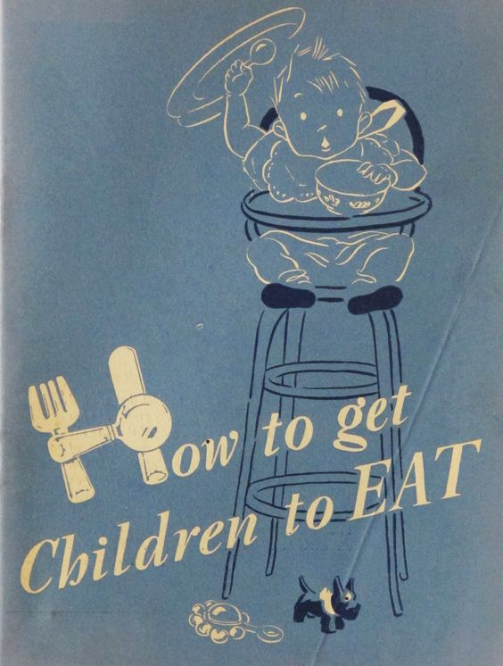 'How to get Children to EAT'. Pamphlet. Early 1950s