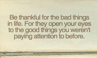 Give thanks for all things.