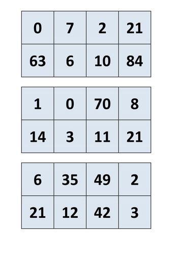 Number Names Worksheets : 7 8 and 9 times table 7 8 ; 7 8 And 9 ...
