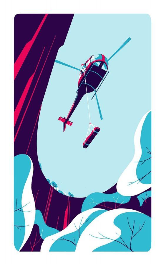 / tom haugomat / handsome frank illustration agency /
