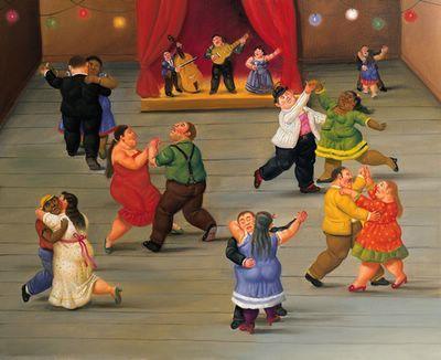 Fernando Botero - Baile - 2002