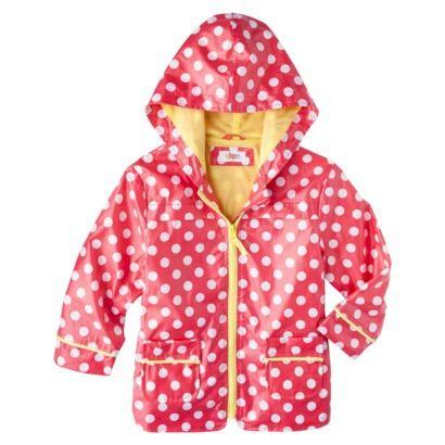 Circo® Infant Toddler Girls&39 Polka Dot Raincoat | Life as a