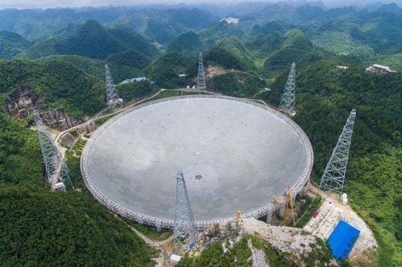 maior telescopio vida alien