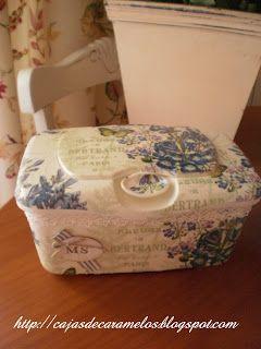 De Dispensador de toallitas húmedas a deliciosa caja romántica