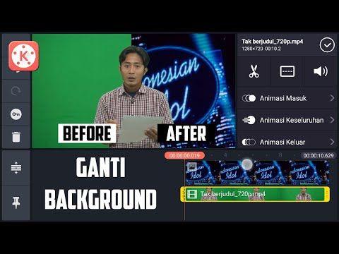 Cara Edit Greenscreen Melalui Hp Android Tutorial Kinemaster Youtube Youtube Video Android