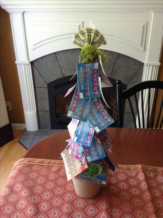 1000 Ideas About Lottery Ticket Tree On Pinterest Lottery Tickets Raffle Baskets And Lottery