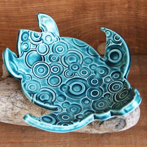 Sea Turtle, Honu Ceramic Dish