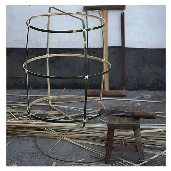 Estructura de bambú