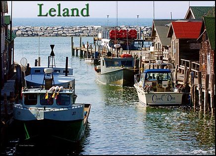 Leland michigan a great place to spend a day or a week for Fish town usa