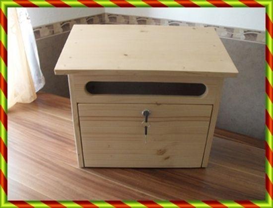 Holzbriefkasten,Postkasten aus Holz  Briefkasten von KewaHolz auf DaWanda.com