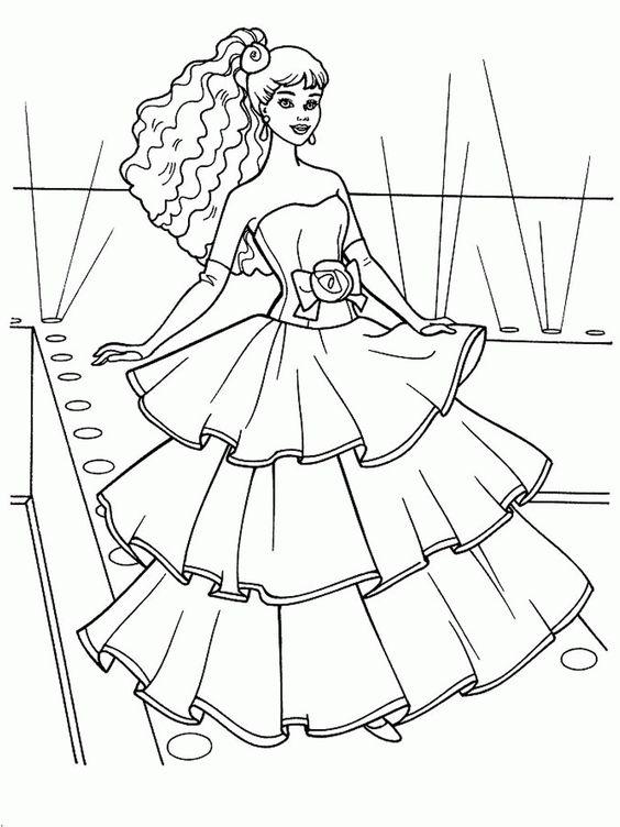 coloriages princesses—princesse coloriage-HD-coloriage a imprimer,coloriage gratuit   Idées pour ...
