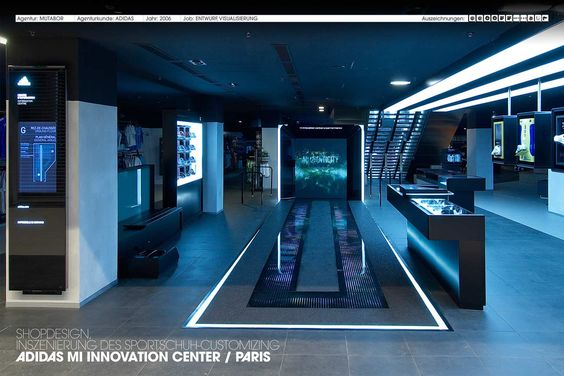 ADIDAS MI INNOVATION CENTER / Paris