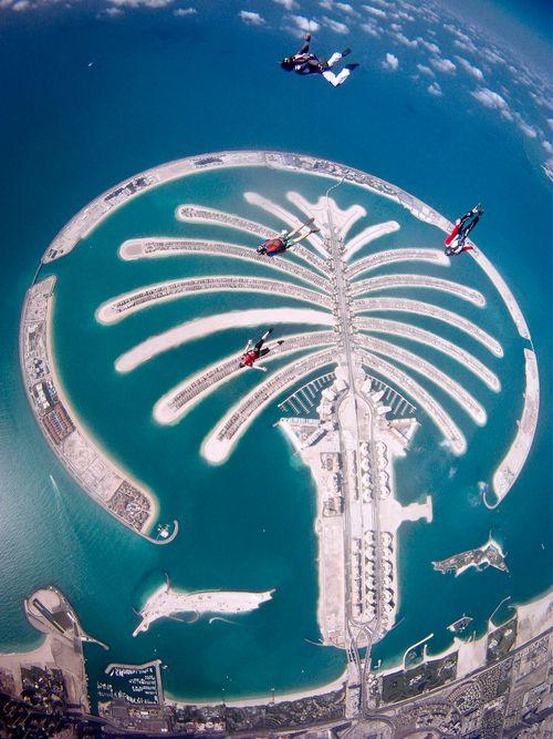 Islas palmeras, Dubái