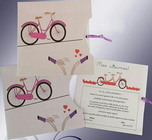 Convite casamento cartoon