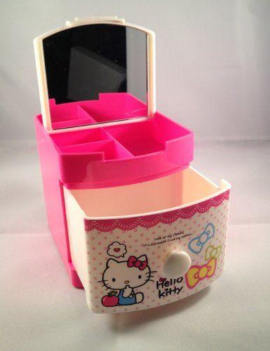 Hello Kitty Jewelry and Pencil Case Holder Box Hello Kitty,HELLO KITTY to buy just click on amazon here  http://www.amazon.com/dp/B009J8EV68/ref=cm_sw_r_pi_dp_lmDDsb0X1475SH97