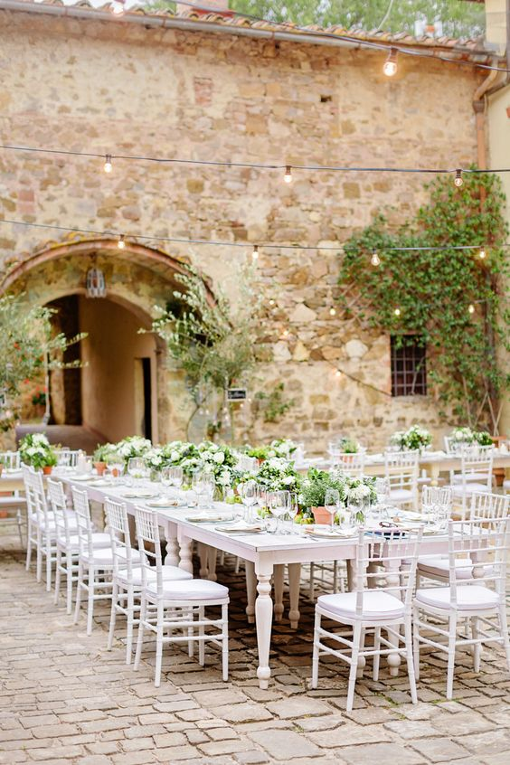 American Wedding in Tuscany