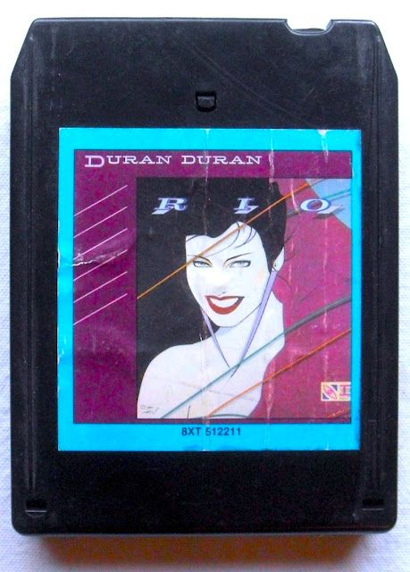 "Rare 8 Track: Duran Duran ""Rio"" (1982).. I had no idea that Duran Duran had any of their albums on 8 track"