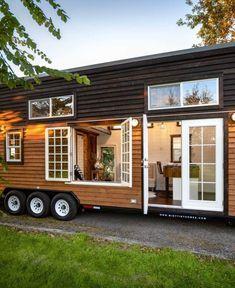 Autumn 34ft Tiny House Rv Tiny Houses For Sale Small Room