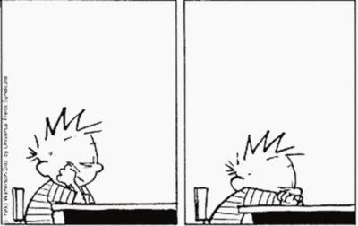 Calvin...and I...hahaha