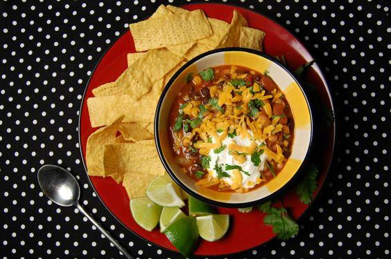 Smoky #Vegetarian Farmhouse #Chili http://www.foodandflight.com/recipe-items/smoky-vegetarian-farmhouse-chili/