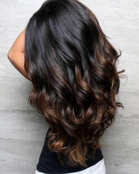 60 Hairstyles Featuring Dark Brown Hair With Highlights Hair Color For Black Hair Dark Brown Hair Balayage Brunette Hair Color
