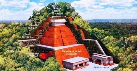 Una pirámide desconocida fue descubierta en México