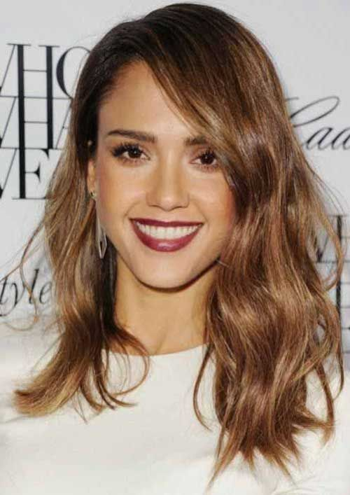 Super Brown Hairstyles Hairstyles 2016 And Long Bobs On Pinterest Short Hairstyles Gunalazisus
