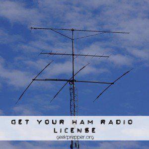 get your ham radio license