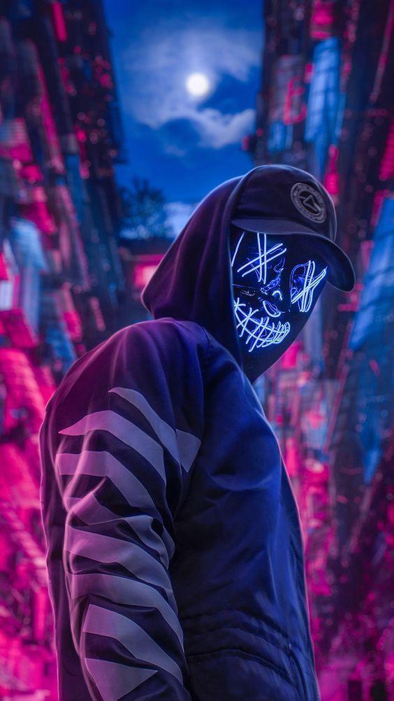 Pin On Halloween Led Mask