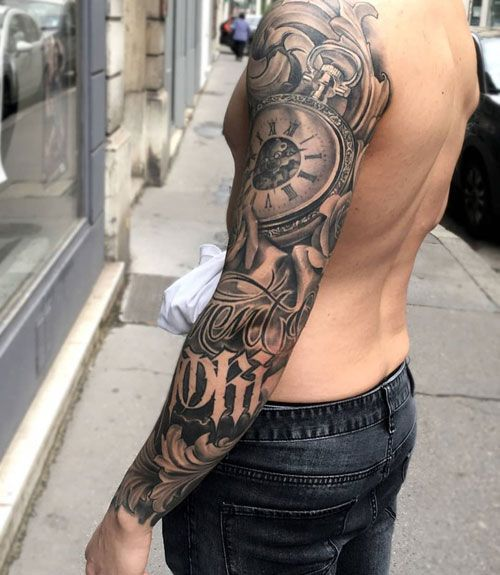 Full Sleeve Arm Tattoo Designs For Men , Best Arm Tattoos