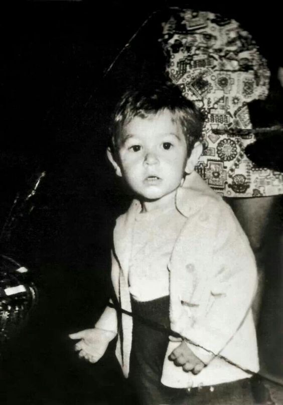 A very young Marco Pantani...