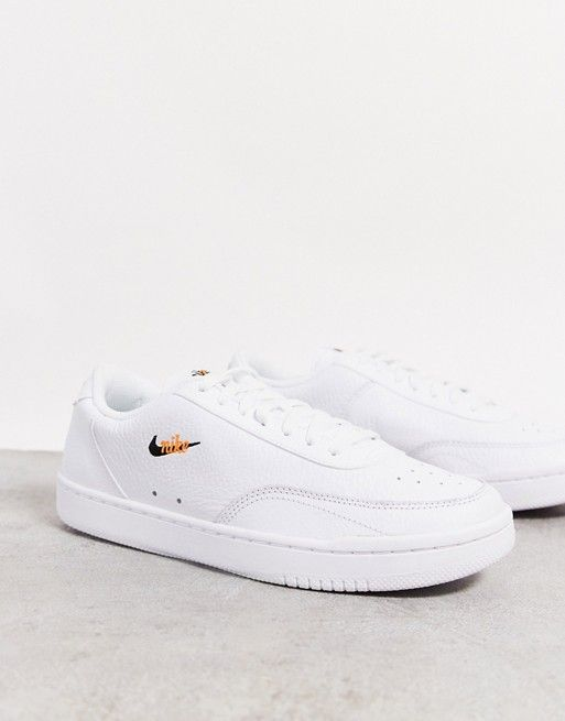 Nike Court Vintage Sneakers In White Asos In 2020 Vintage Sneakers Vintage Nike Sneakers