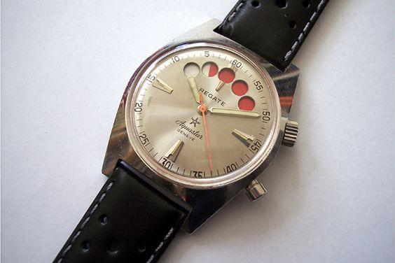 Tutti gli orologi da vela, dai modelli tecnici ai segnatempo di lusso, presenti…