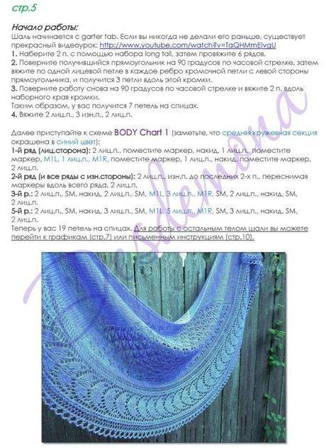 6 Вязание спицами