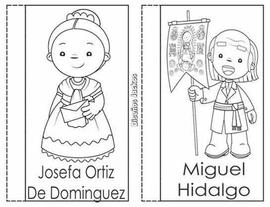 Material De Personajes De La Independencia De Mexico Maprim Personajes De La Independencia Dibujos De La Independencia Independencia De Mexico Personajes