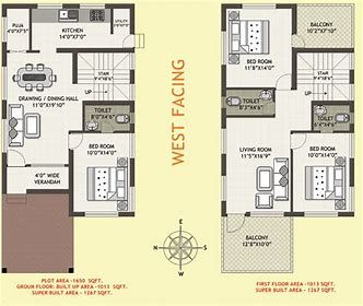Image Result For West Facing House Design As Per Vastu Shastra West Facing House 20x40 House Plans 2bhk House Plan