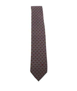 Cedric Charlier | Celine Multi-color Silk Necktie