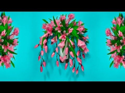 Cara Membuat Bunga Anggrek Hiasan Dinding Dari Plastik Kresek Diy Wall Hanging Craft Youtube Bunga Bunga Murah Gambar