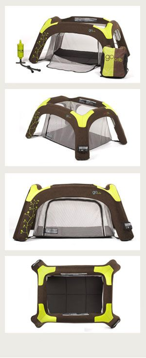 """Guava Family GoCrib for infant travel. If we get to have another baby, this is at the top of my """"want"""" list"""