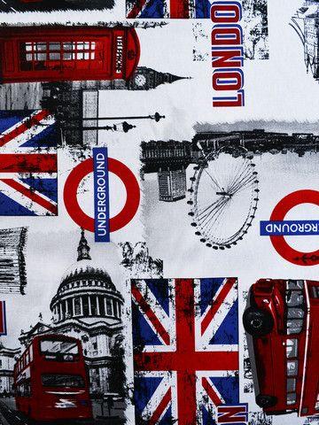 london, novelty prints, drapery fabrics