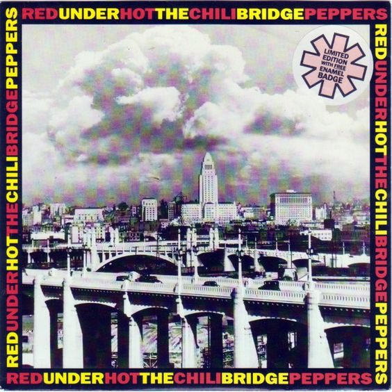 Red Hot Chili Peppers – Under the Bridge (single cover art)