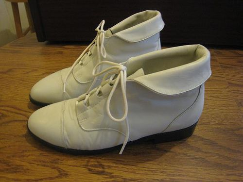 Flat ankle boots Ankle boots and White flats on Pinterest