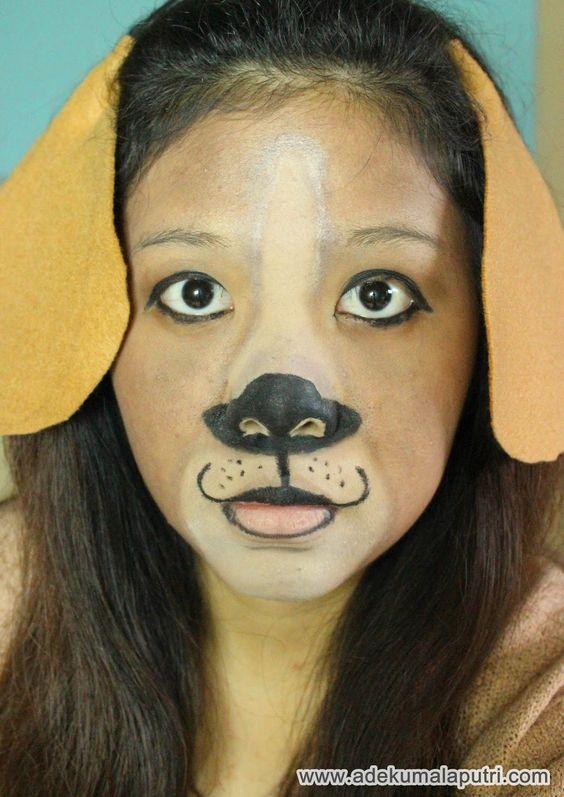 Best 25+ Dog makeup ideas on Pinterest | Cheetah costume, Dog face ...