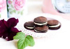 LowCarb Cookies im Oreo Style
