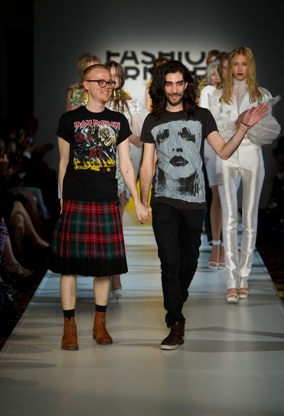 FYODOR GOLAN SS12 (c) Ian Gavan/Getty Images for Fashion Fringe