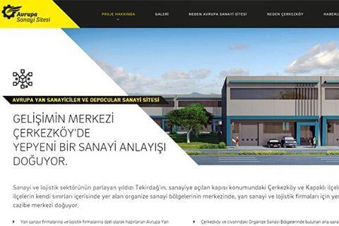 """""""Avrupa Sanayi Sitesi"""" web sitesinin front-end ve back-end yazılım işlerini tamamladık. http://www.avrupasanayisitesi.com/ #webdesign #webdevelopment #frontend #backend #development #design #website"""