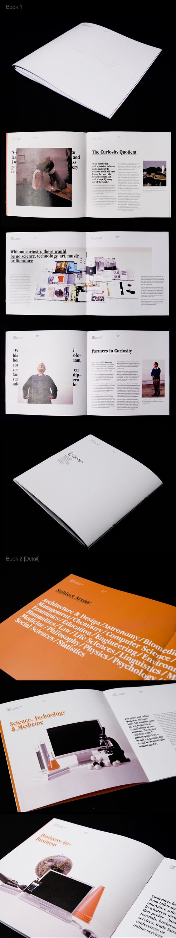 Brochure by Mike Giesser, via Behance