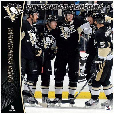 """Pittsburgh Penguins 2015 12"""" x 12"""" Wall Calendar"""