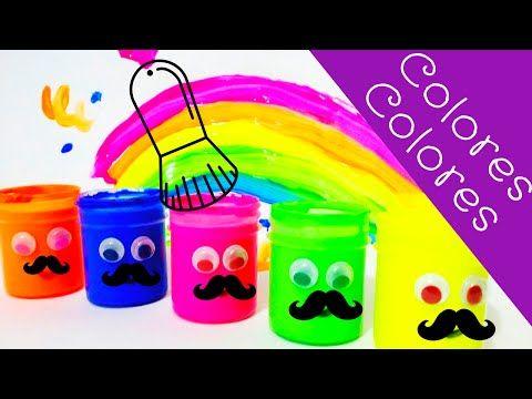 Aprende los colores en español e inglés, en este vídeo cantamos y pintamos, también descubre el color de tu personaje favorito!